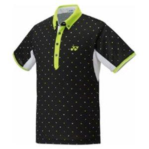 2b2c4dc5151b 送料無料 YONEX ヨネックス ポンパレ スポーツウェア ポロシャツ(ユニセックス) 12073 ポンパレモール [カラー:ブラック] ファイパーレ  [サイズ:O] #12073 スポーツ ...