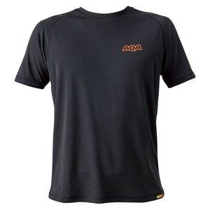 送料無料 AQA エーキューエー パワードライラッシュTシャツ メンズ [カラー:ブラック] [サイズ:LL] #KW-4453