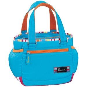 送料無料 PARADISO パラディーゾ コートポーチ テニスバッグ [カラー:ブルー] #TAA432