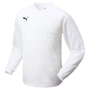 送料無料 PUMA プーマ 長袖ゲームシャツ サッカーウェア [カラー:ホワイト×ブラック] [サイズ:O] #862162