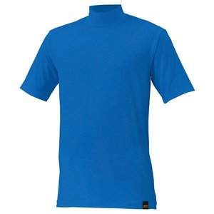 送料無料 ZETT ゼット 野球用 アンダーシャツ ライトフィット ハイネック・半袖 [カラー:オーシャンブルー] [サイズ:M] #BO1420A