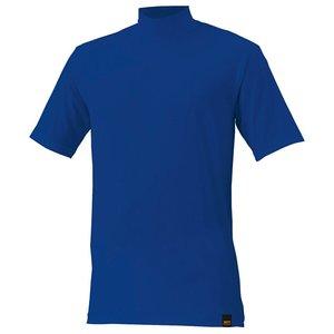 送料無料 ZETT ゼット 野球用 アンダーシャツ ライトフィット ハイネック・半袖 [カラー:ロイヤルブルー] [サイズ:2XO] #BO1420A
