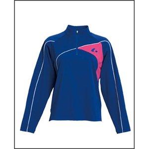 送料無料 LUCENT ルーセント 長袖ポロシャツ(レディース) XLP-4537 [カラー:ロイヤルブルー] [サイズ:L] #XLP4537