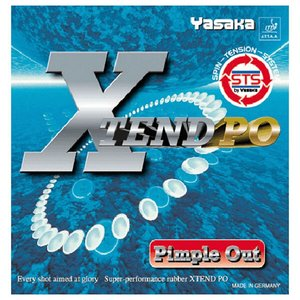 送料無料 YASAKA ヤサカ エクステンドPO 卓球ラバー [カラー:ブラック] [サイズ:中] #B-34