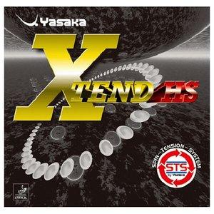 送料無料 YASAKA ヤサカ エクステンドHS 卓球ラバー [カラー:レッド] [サイズ:中厚] #B-71