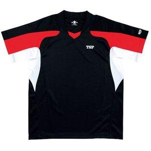 送料無料 TSP ティーエスピー 卓球用 シャツ ヨーロセンソシャツ [カラー:ブラック] [サイズ:XXO] #030435