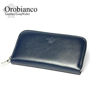 buy online e9755 3242b Orobianco オロビアンコ 財布 長財布 メンズ ラウンドファスナー さいふ ウォレット ブランド 【革 レザー】 【Men's サイフ】