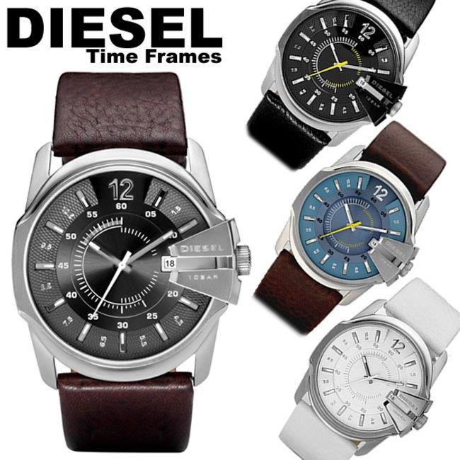 new arrival aea7f 5dc3c ディーゼル DIESEL 腕時計 革ベルト レザー ブラウン メンズ 腕時計 腕時計 MEN'S ウォッチ 人気 ブランド ランキング DZ1206  DZ1295 DZ1399 DZ1405