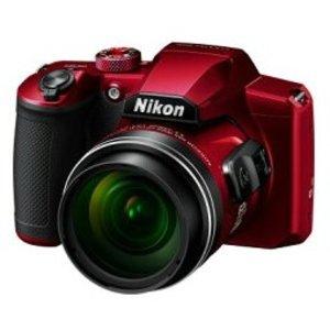 【正規品直輸入】 【送料無料】Nikon・ニコン 光学60倍ズーム1440mmデジカメ COOLPIX B600 レッド【***特別価格***】, 釣具の通販 南紀屋 f4c2e349