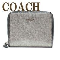 1a447b061261 コーチ 財布 COACH 二つ折り 財布 レディース シルバー グリッター 29950SVSO
