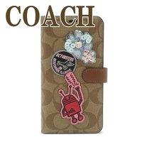a3672f38356c コーチ COACH iPhone XS Max専用 ケース 手帳型 アイフォン キース・へリング コラボ 68428E7V