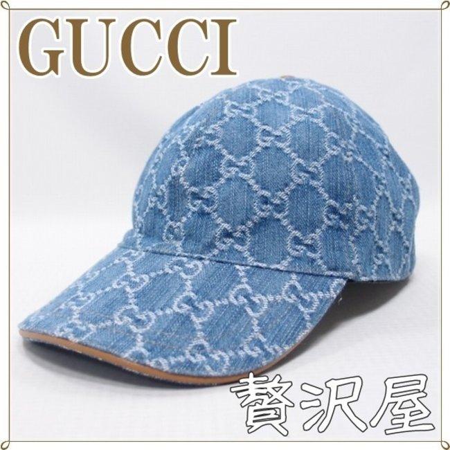 reputable site 1706b 1aab6 グッチ GUCCI 帽子 キャップ レディース 女性用 GGデニム GUCCI 200043-FQY1G-8692