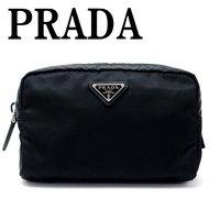 ac1743e0b579 プラダ PRADA ポーチ コスメポーチ 化粧ポーチ 小物 ロゴ 1NA021-2BQP-F0002