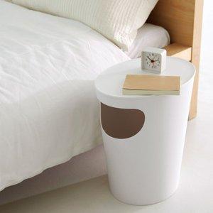 収納やゴミ箱にも使えるサイドテーブル!rdquo ENOTS (エノッツ)サイドテーブルrdquo