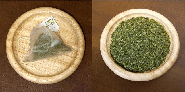 鹿児島産粉茶茶葉