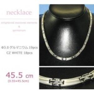 【在庫あり/即出荷可】 MARE(マーレ) スワロフスキー&ゲルマニウムネックレス PT/IP ミラー 138 0.55×45.5cm NTH1731-01ポイント消化 スワロフスキーが輝くシンプルで上品なネックレス。, 腕時計のななぷれ:789de151 --- fukuoka-heisei.gr.jp