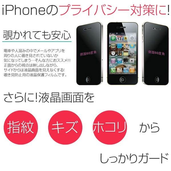 iPhone5 5c iPhone5s iPhone SE 覗き見防止フィルム 360度覗き見防止 液晶フィルム 液晶保護フィルム シール アイフォン