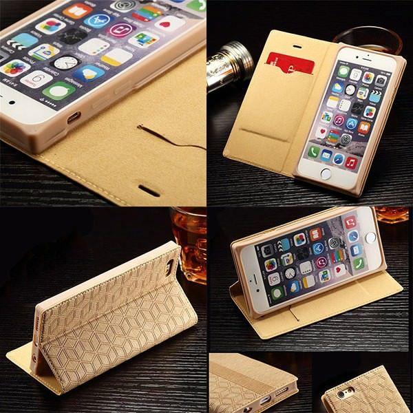 iPhone6 iPhone6s ケース 手帳型ケース 通話対応 レザーケース スマホケース スマホカバー シンプル おしゃれ アイフォン