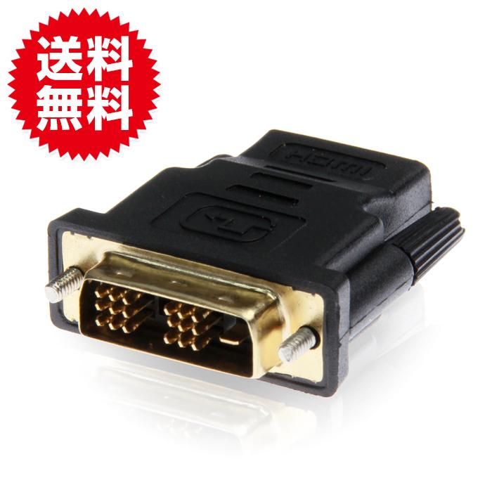 DVI→HDMI変換アダプター