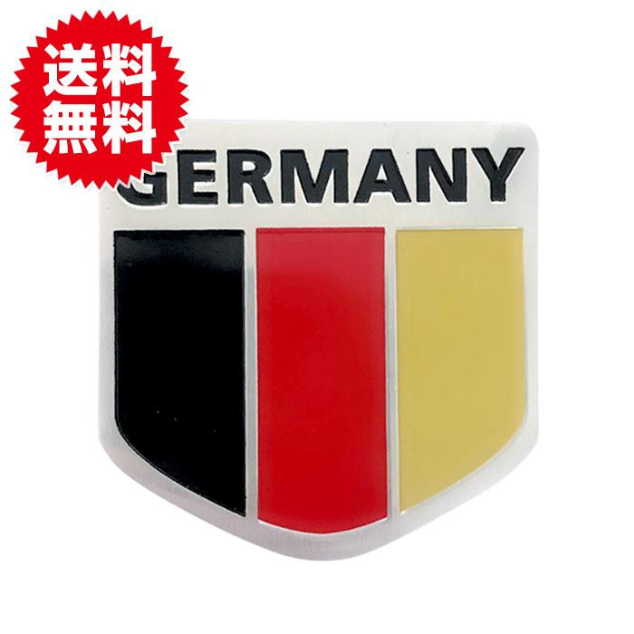 ドイツ国旗 ステッカープレート