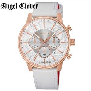 【楽天ランキング1位】 【レビューを書いて5年保証】エンジェルクローバー Angel Cloverナンバーナイン NNC42PWH-WH 時計 腕時計 メンズシルバー ピンクゴールド ホワイトレザー ラウンド, Pixie 04ed2cf5