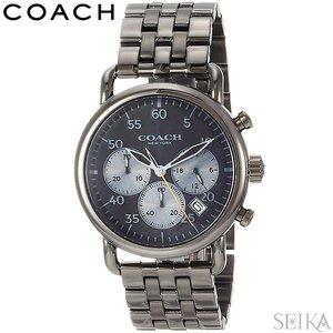 【格安SALEスタート】 コーチ COACH クロノグラフ 14602138時計 腕時計 メンズ メンズ ガンメタル 腕時計 クロノグラフ ラウンド 新品 送料無料 ラッピング プレゼントにオススメ, 激安通販の:6b9edff6 --- akadmusic.ir