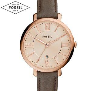 安い フォッシル FOSSIL ES3707 レディース 時計 腕時計 フォッシル レディース Jacqueline ジャクリーン グレー ES3707 レザー (k-15) 新品 送料無料 ラッピング プレゼントにオススメ, エスピーアイ:bdc63c5d --- ancestralgrill.eu.org