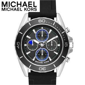 高級素材使用ブランド 【レビューを書いて5年保証】マイケルコース MICHAEL KORSMK8485 時計 KORSMK8485 腕時計 腕時計 メンズ ブラック MICHAEL ラバー (k-15) ラウンド 新品 送料無料 ラッピング プレゼントにオススメ, あそび隊:6ecfeab4 --- mashyaneh.org