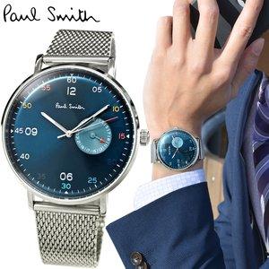 『3年保証』 (超目玉 ネイビー!)ポールスミス 腕時計 41mm 時計 PAUL 腕時計 時計 SMITH GAUGEPS0060006 ネイビー シルバーメッシュ 41mm プレゼント 新品 送料無料 ラッピング プレゼントにオススメ, みね商店:c8459dda --- abizad.eu.org