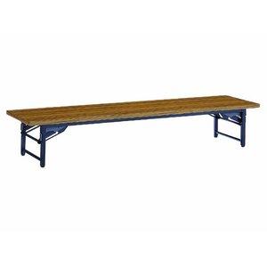 【最安値挑戦!】 コクヨ/脚折りたたみ式テーブルKT-40 和机 W1800×D600チーク【直送・】【組立・設置 和机・送料無料】【納期約4日】 指挟み防止機構つきで安心。, イサグン:933b087e --- parker.com.vn