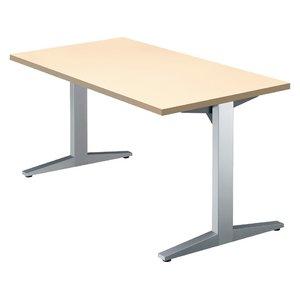 【年中無休】 プラス/STAGEO テーブル テーブル W1400*D750 ホワイトメープル/ST-140TR【直送 プラス/STAGEO・】【組立・設置・送料無料】【納期約12日】 スマートなデザインのスタンダードなテーブル。シームレスというコンセプトがかもし出す、スマートで先鋭的な一体感。, 美原町:dd2a7770 --- theatrepropmaker.co.uk