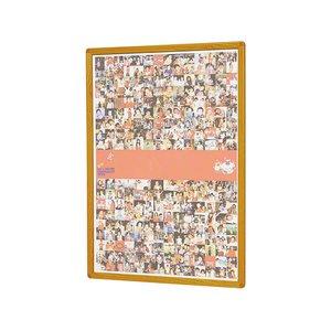 魅力の 馬印/ポスターパネルラクパー B4サイズ 木目調枠 304*411mm【直送・】【送料無料】【納期約10日】, ツルイムラ 608c86de