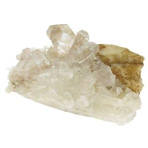 ヒマラヤ クル・マナリ産 水晶クラスター 約155g 天然石 パワーストーン 水晶 クラスター ヒマラヤ水晶 浄化 原石 天然水晶 クォーツ【ギフトOK】