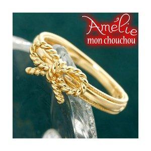 【お気に入り】 Amelie 19号 Monchouchou【リボンシリーズ】リング 19号 指輪 Amelie K18 リボンリング, メンズプロダクト:64222e87 --- mashyaneh.org