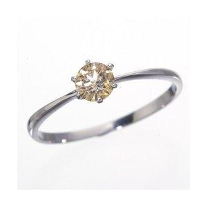 【上品】 K18WG (ホワイトゴールド)0.25ctライトブラウンダイヤリング 指輪 183828 183828 7号 K18WG 18金WG 指輪 0.25ctシャンパンゴールドダイヤモンドリング, カーオーディオ通販 ネットワン:665117cb --- pyme.pe