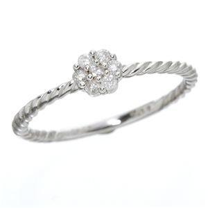 【爆売り!】 K14ホワイトゴールド ダイヤリング 指輪 9号 指輪 K14WG ダイヤモンドリング, 餅よし:48629582 --- csrcom.com