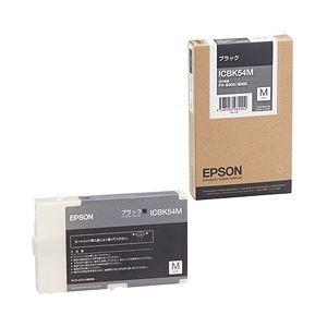 肌触りがいい 【純正品】 エプソン(EPSON) インクカートリッジ ブラック・Mサイズ 型番:ICBK54M 単位:1個, フクロイシ c661ad6a