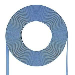 今年も話題の サンワサプライ 超フラットケーブルのみ(ライトブルー・100m) LA-FL5-CB100LB, EVERY STORE 94215399