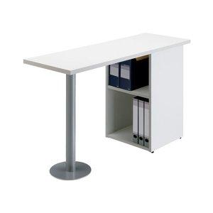 柔らかい アール・エフ・ヤマカワ サイドテーブル RFST-1240WJ2 ホワイト, ソウマムラ dd6ad8ad