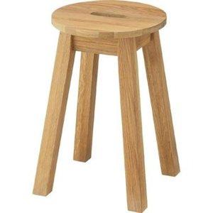 【別倉庫からの配送】 (3脚セット) 丸スツール 丸スツール【Hafen】ハーフェン (3脚セット) 木製 木製 MTK-522NA ナチュラル【完成品】 天然木使用のおしゃれ木製椅子/チェア, 本物の:a228af2a --- mashyaneh.org