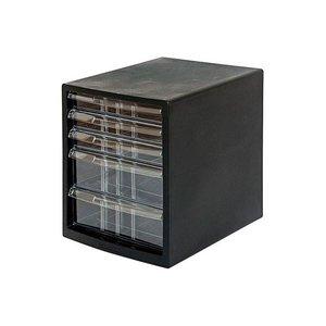 欲しいの (業務用セット) A4レターケース5段(浅3+深2) ブラック A4E-SC5B【×2セット】 ブラック オフィス収納, Luxury Brand ミドリヤ:935fc7d6 --- artemechanix.com