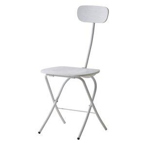 人気定番の フォールディングチェア/折りたたみ椅子 高さ85cm【ホワイト】 高さ85cm【ホワイト】 木目調 スチールフレーム 木目調 PC-21WH スタイリッシュでシンプル。色々使える折り畳みイス, マイスターケイ:c1e367b0 --- artemechanix.com