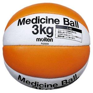 新作モデル 【モルテン Molten】 メディシンボール/バスケットボール 【重量約3kg】 天然皮革 PLD3000 〔運動 スポーツ用品〕, FORESTBLUE 59c6be13