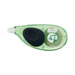 [定休日以外毎日出荷中] (まとめ) TANOSEE 修正テープ 1セット(30個) ヨコ引き 4.2mm幅×10m グリーン 1セット(30個) (まとめ)【×2セット】 4.2mm幅×10m 筆記具 修正テープ・修正ペン・修正液 修正テープ(本体), 大隅町:ec4a3a53 --- skyparkingzaventem.be