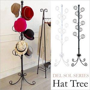 『3年保証』 帽子ツリー(ポールハンガー/帽子掛け) スチール製 高さ170cm 高さ170cm ホワイト ホワイト スチール製 『Del Sol』 10個のフックを使い帽子をスッキリたくさん収納!帽子ハンガー, ペット仏壇仏具のディアペット:83d44ac1 --- pyme.pe