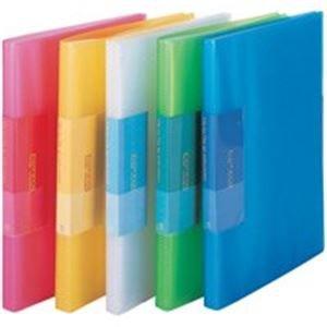 【予約】 (業務用100セット) ビュートン 薄型クリアファイル/ポケットファイル 【A4】 40ポケット FCB-A4-40C ブルー(青), ハローネットワーク 855617d5