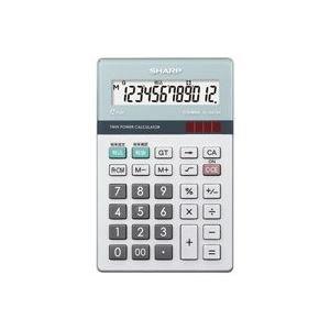 割引クーポン (業務用30セット) シャープ SHARP 環境配慮電卓 ナイスサイズ EL-N412K 環境配慮電卓 SHARP 電子手帳・電卓 電卓 事務用品 まとめお得セット, イズミグン:dde80636 --- 5613dcaibao.eu.org