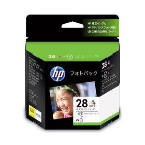 人気アイテム (まとめ) HP28/L判 フォトパック 3色カラー+アドバンスフォト用紙L判25枚 CR714AJ 1セット 【×3セット】, 東京ぶらんど f0b3f808