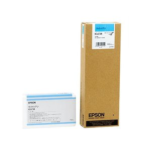 海外ブランド  (まとめ) EPSON エプソン EPSON PX-P/K3インクカートリッジ ライトシアン 1個 700ml (まとめ) ICLC58 1個【×10セット】 インクカートリッジ 純正インクカートリッジ・リボンカセット, カワウチマチ:f63e43cc --- abizad.eu.org