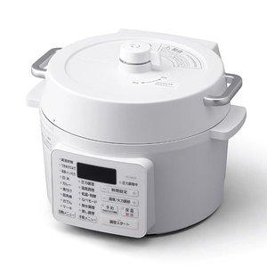 激安超安値 アイリスオーヤマ 電気圧力鍋 2.2L ホワイト PC-MA2-W, おせんべいおかきの老舗 もち吉 dcf9e6f8